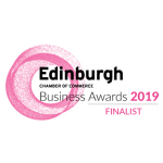 Edinburgh Chamber of Commerce Service Excellence 2019 finalist